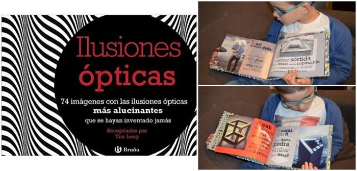 cuentos sorprendentes para fomentar la lectura, libro Ilusiones ópticas
