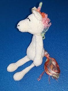 unicorn rainbow amigurumi