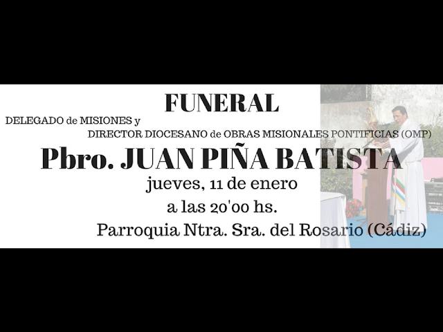 Director misiones, Juan Piña