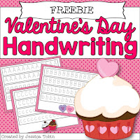 FREE Valentine's Day Activity- February Activities and FREEBIES- activities for primary students- February reading, math, writing, social studies and more! Valentine's Day, Presidents Day, Black History Month, Dental Health Month