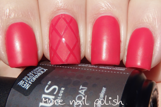 Gelicious UItra Matte Top Coat ~ More Nail Polish