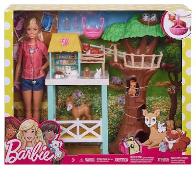 BARBIE - Centro de Rescate : Muñeca Veterinaria -Granja | Mattel 2017 | CAJA JUGUETE