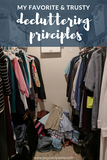Trusty Decluttering Principles and Ideas!