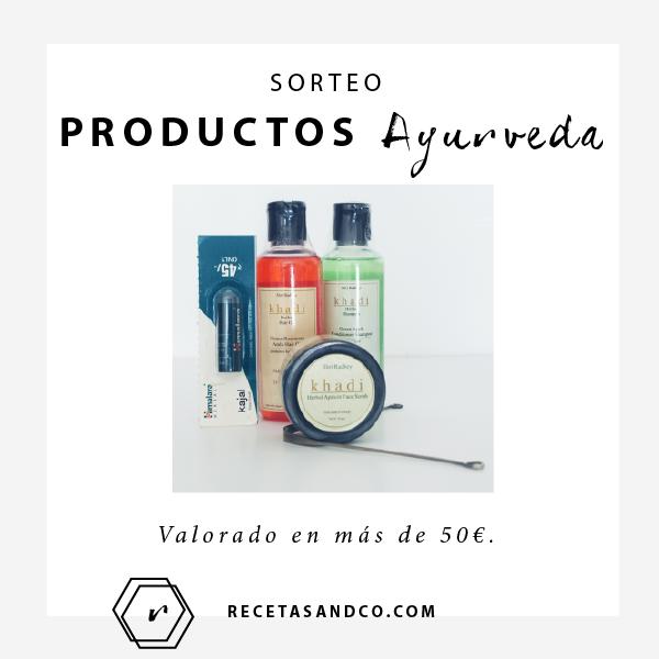 Productos ayurveda