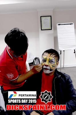 Face Painting Pertamina Jakarta