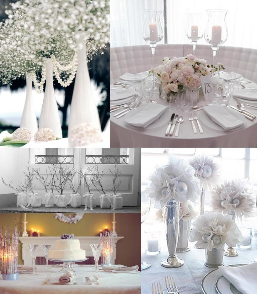 The Color White Wedding Decoration