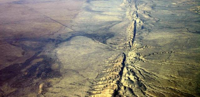 Tectonica de placas y Falla San Andres