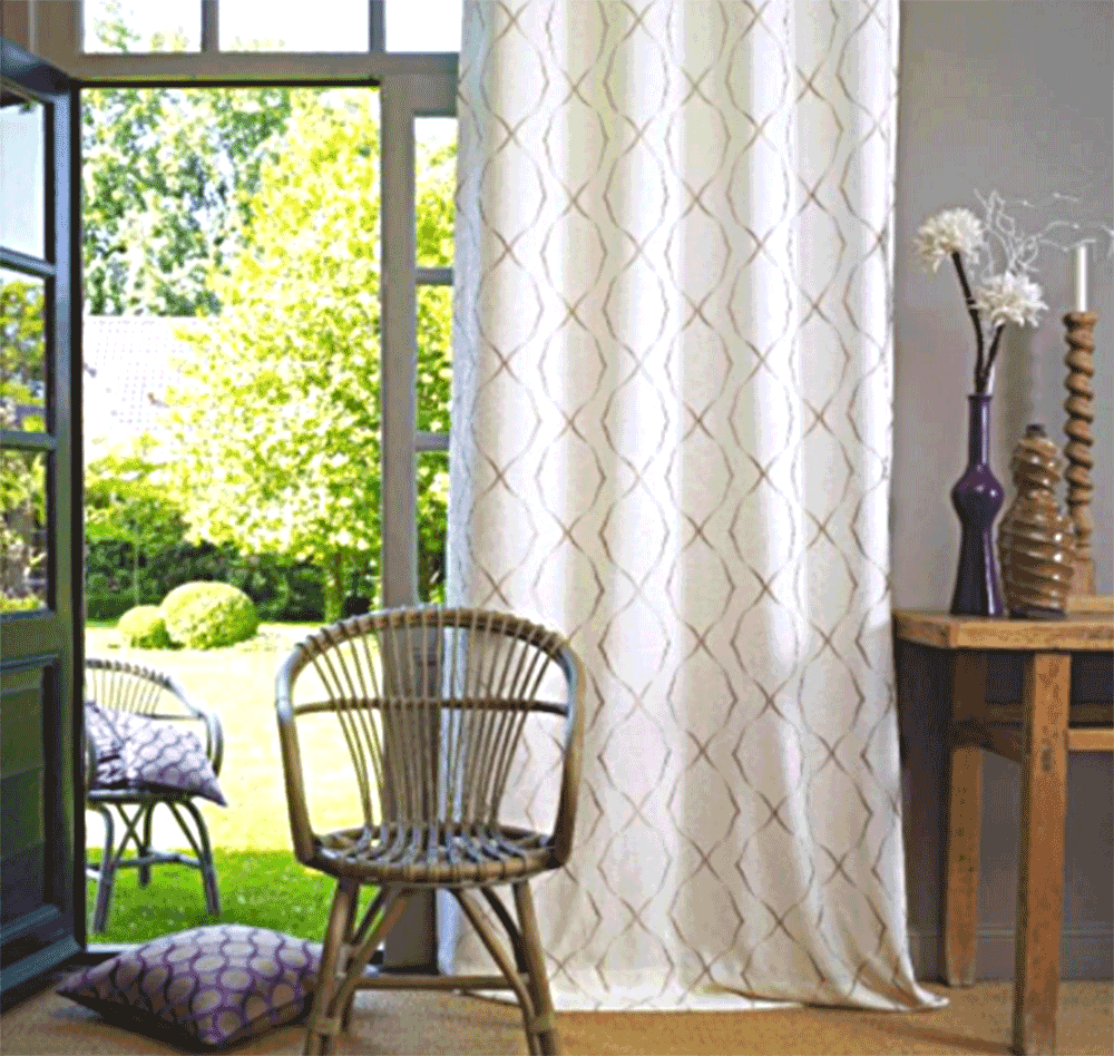 Curtain Ideas Fashionable Curtain Ideas For Balcony And Loggia In A Modern Style
