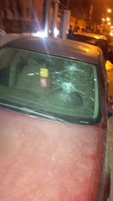 Photos: Gunmen attack Lagos State Commissioner for Transport, one person injured