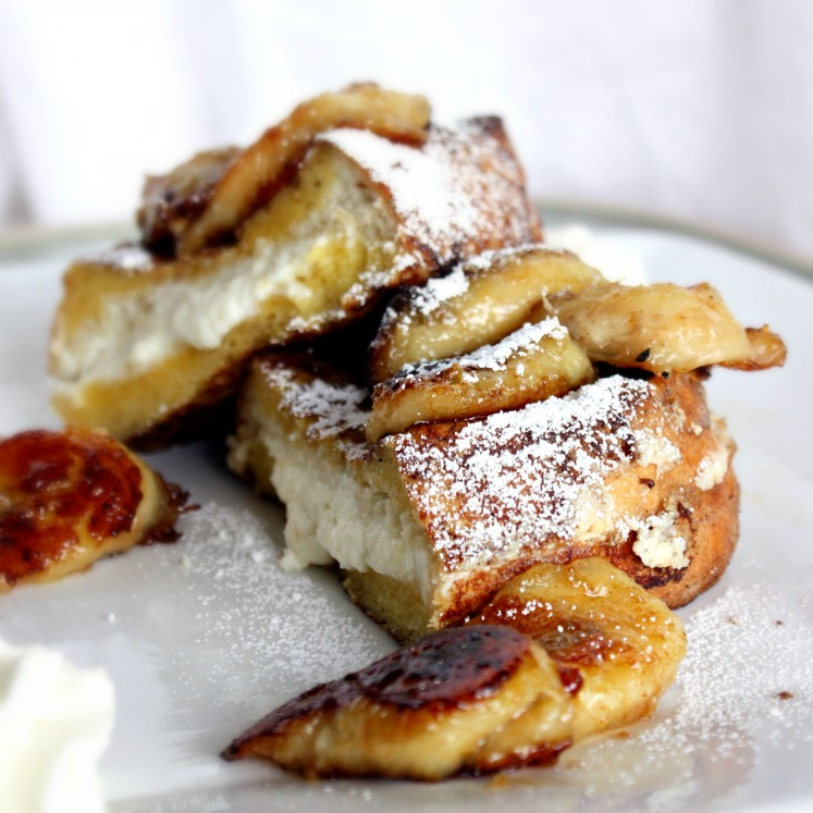 Our Eyes Eat First Ricotta Stuffed French Toast With