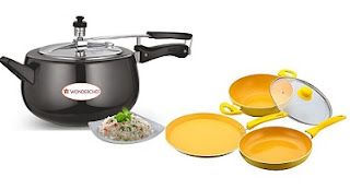 Wonderchef Cookware: Min 25% Off upto 65% Off @ Amazon (Limited Period Offer)