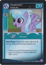 My Little Pony Cloudchaser, Flexible Flier Premiere CCG Card