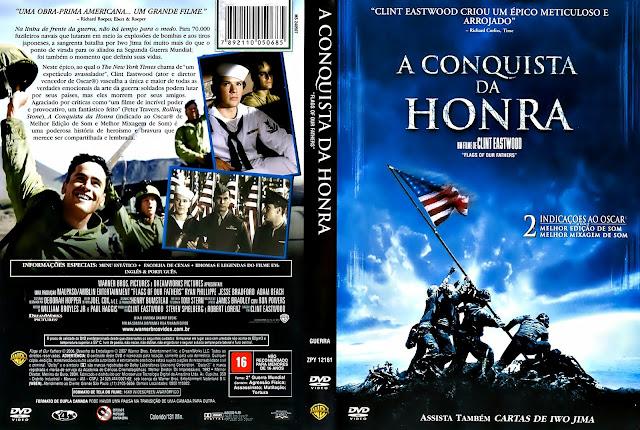 Capa DVD A Conquista da Honra