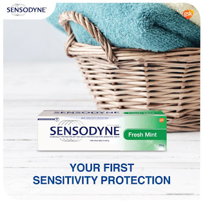 Sensodyne Fresh Mint Toothpaste Free Sample Giveaway Promo