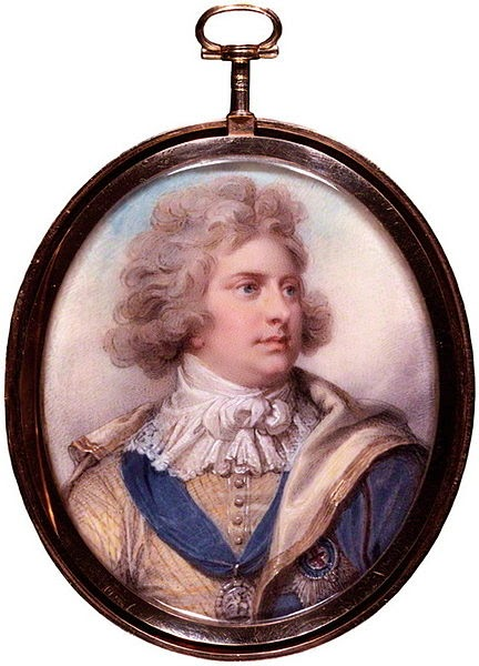 George, Prince of Wales by Richard Cosway, 1792