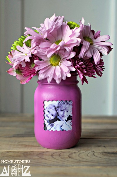 Mother's Day Mason Jar Picture Frame