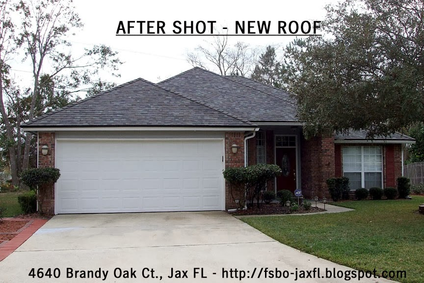 4640 Brandy Oak Court New Roof - Front