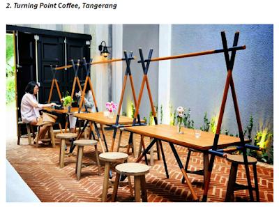 Konsep Cafe Dengan Desain Kursi Unik dan kreatif