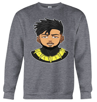 Erik Killmonger Sweatshirt Sweater