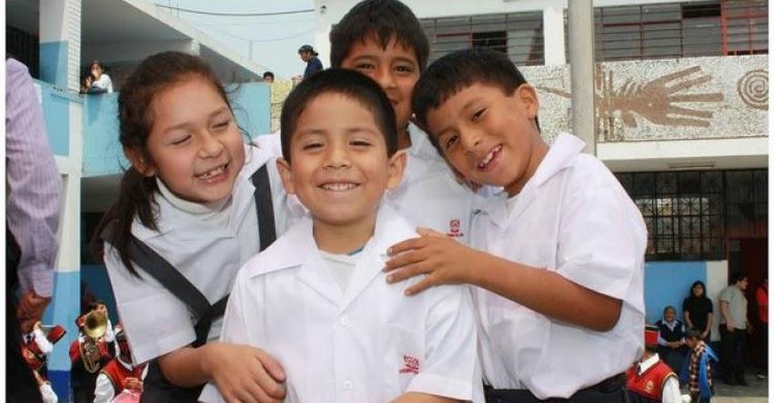 MINEDU suspende obligación de usar uniforme para el Año Escolar 2017 - www.minedu.gob.pe