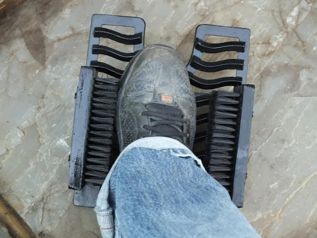 New Boot Scraper