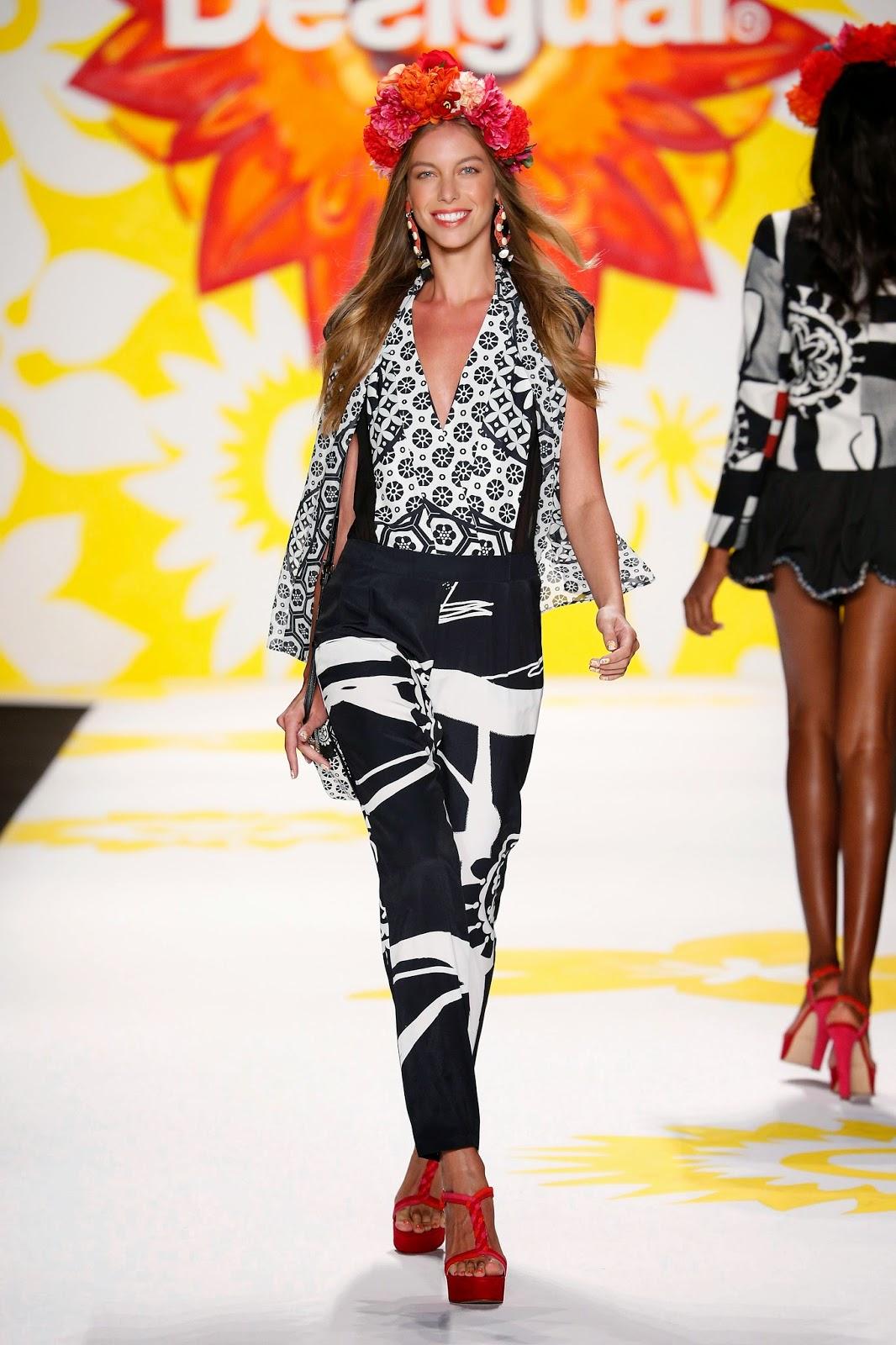 0050187f7 New York Fashion Week: Desigual Says It With Flowers | Shop, Eat & Sleep