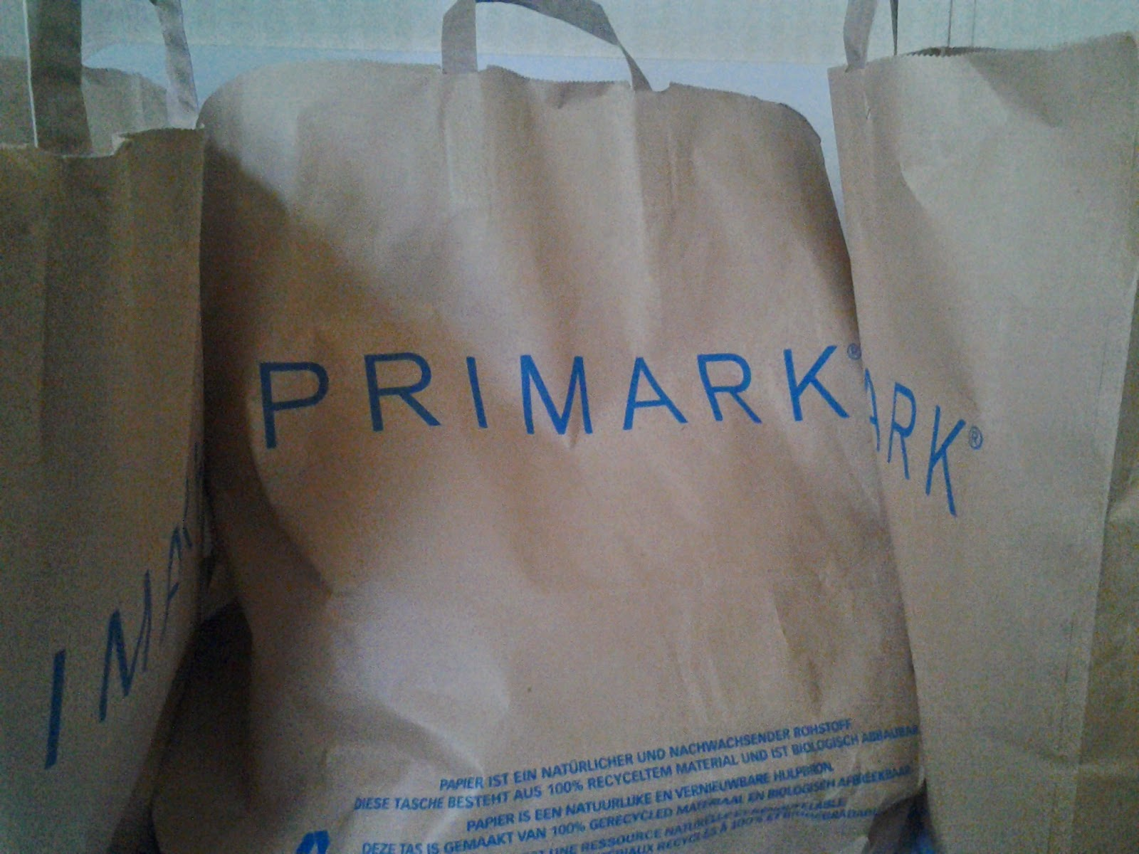 PRIMARK - zakupy