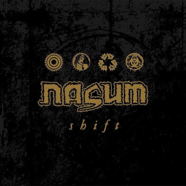 Nasum Shift Album Grindcore LP
