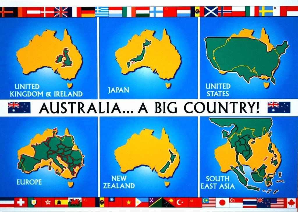 Australia ... a big country