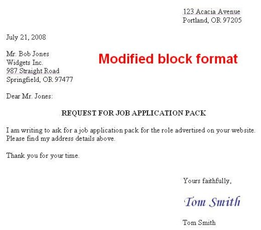 ModifiedBlockFormat Semi Formal Email Format Example on formal letter layout example, proper email example, formal email letter format, business correspondence format example, business letter heading format example, business email example, formal e-mail, writing a letter example,