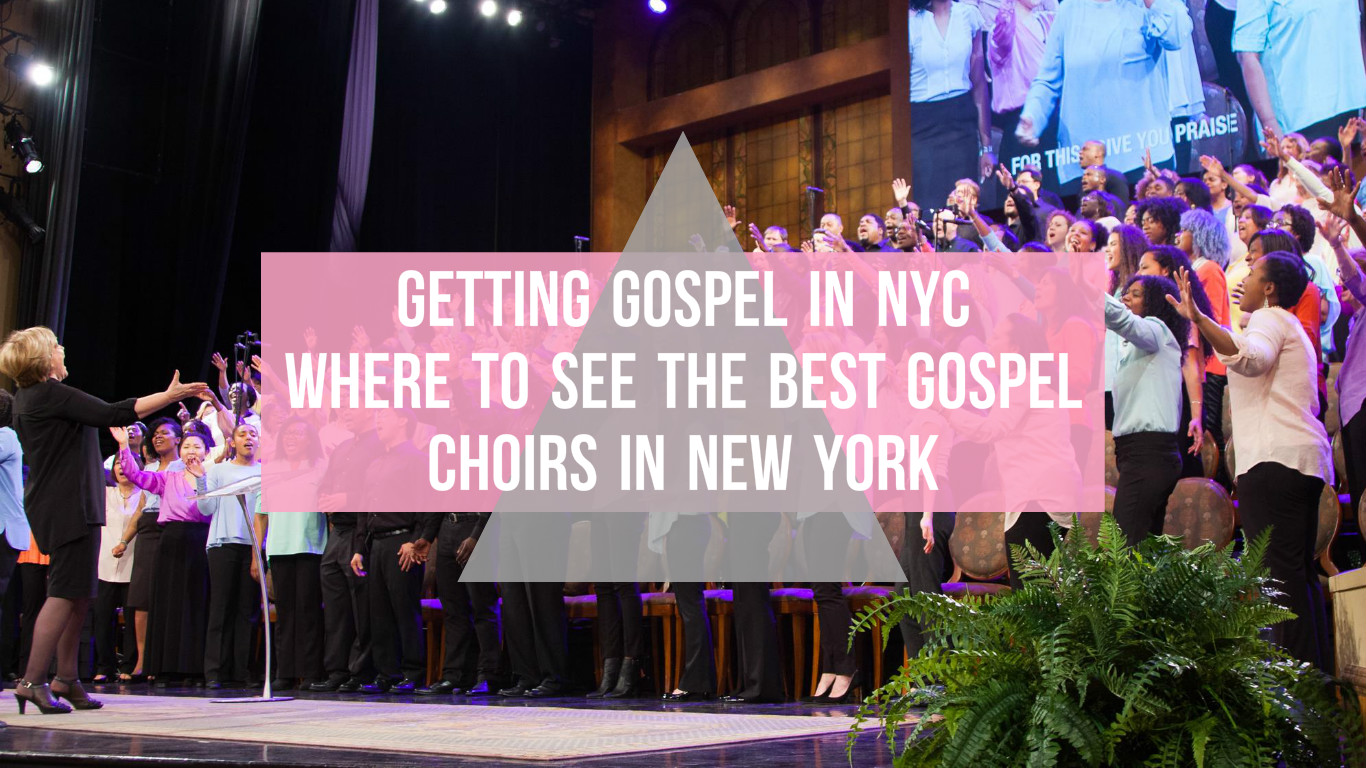 Getting Gospel in NYC: Where to see the best gospel choirs in New York