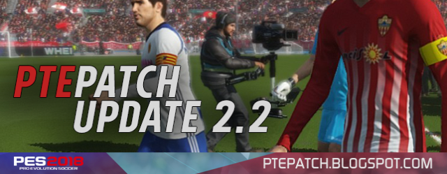 PTE PATCH 2018 Update 2.2 Released 20/11/2017