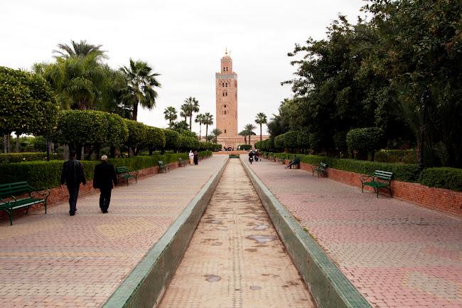 Jardines de la Mezquita de la Koutoubia