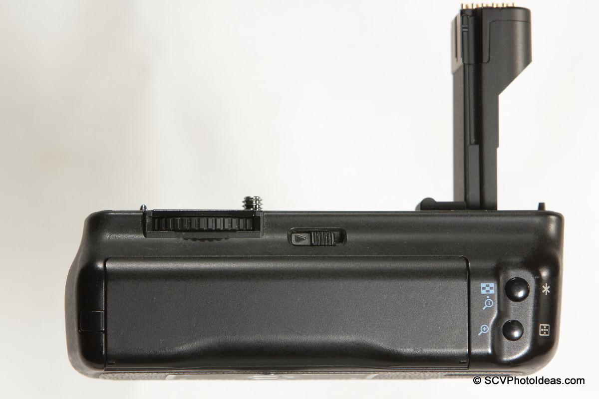 Canon BG-E2N Battery Grip back