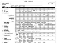 Formulir Pendataan Dapodikdas Tahun 2015