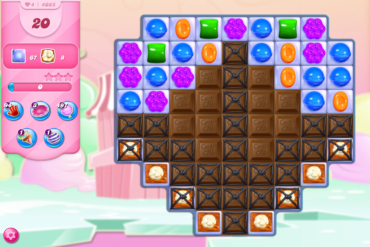 Candy Crush Saga level 4085