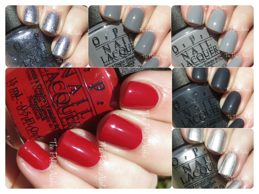 mini pack opi fifty shades of grey
