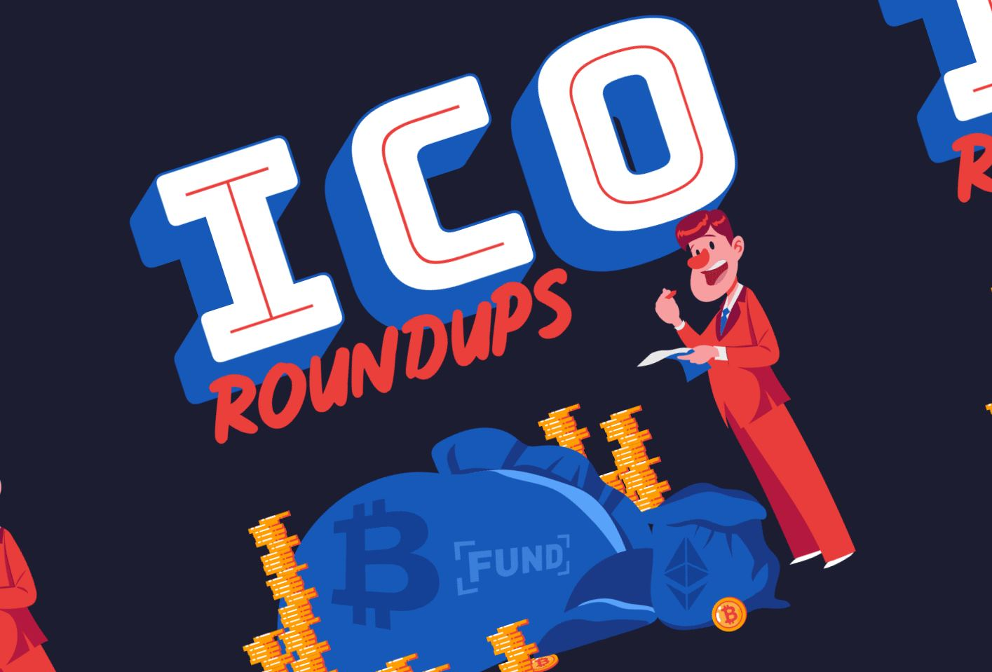 ICO Roundups: Revolutionary Way To Get Funded - #infographic