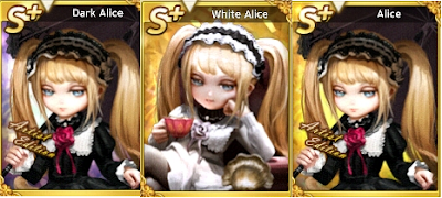 WHITE ALICE , DARK ALICE DAN BLACK ALICE