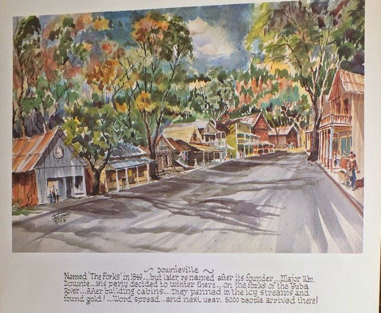 gold country girls: More Views of Jamestown California