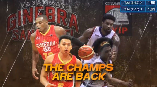 Live Streaming List: Barangay Ginebra vs Columbian Dyip 2018 PBA Governors' Cup