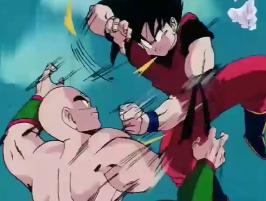 Dragon Ball Dublado: Episódio 139 – Mais uma luta violenta: Goku contra Tenshinhan