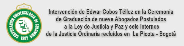 Acto de Grado - Facultad de Derecho - Corporación Universitaria de Colombia IDEAS