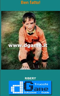 Soluzioni Guess the child footballer livello 8