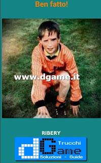 Soluzioni Guess the child footballer livello 8