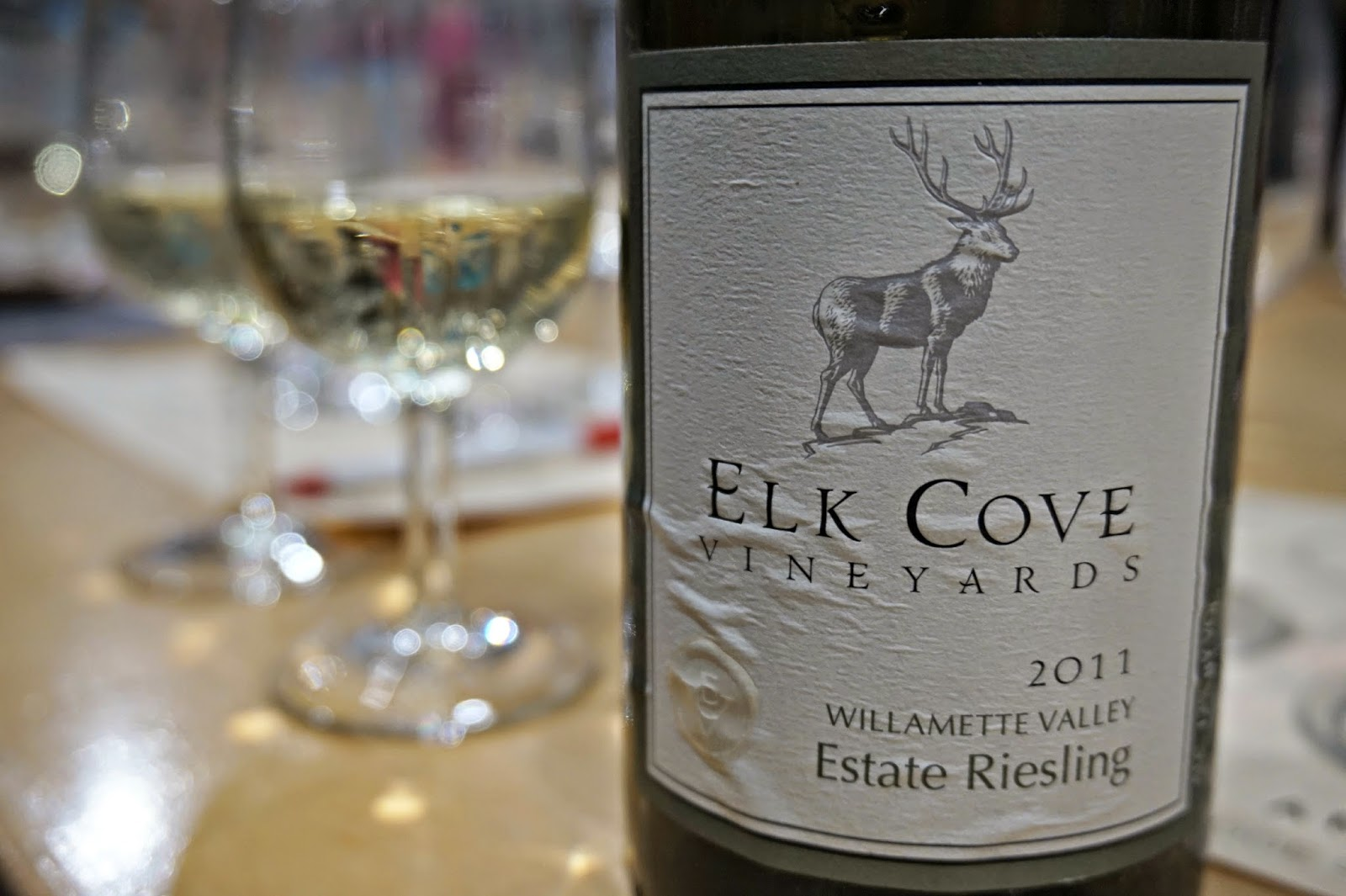Elk Cove Oregon Wine - Reisling