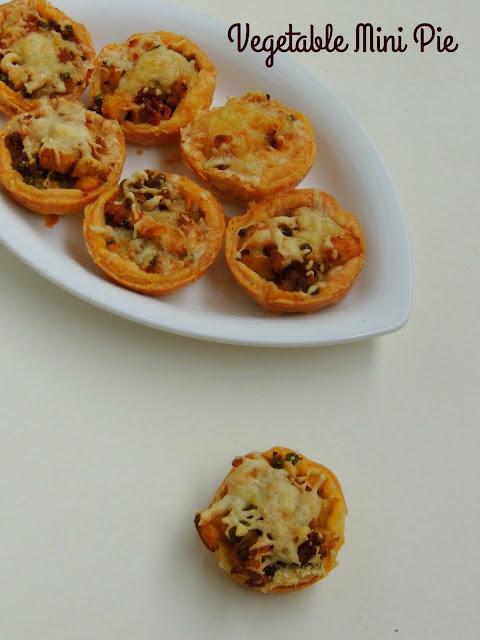 Vegetable Mini Pie