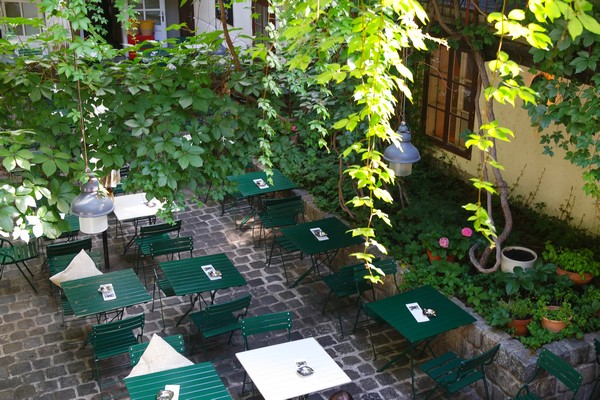 vienne jardin cour intérieure amerlingbeisl spittelberg