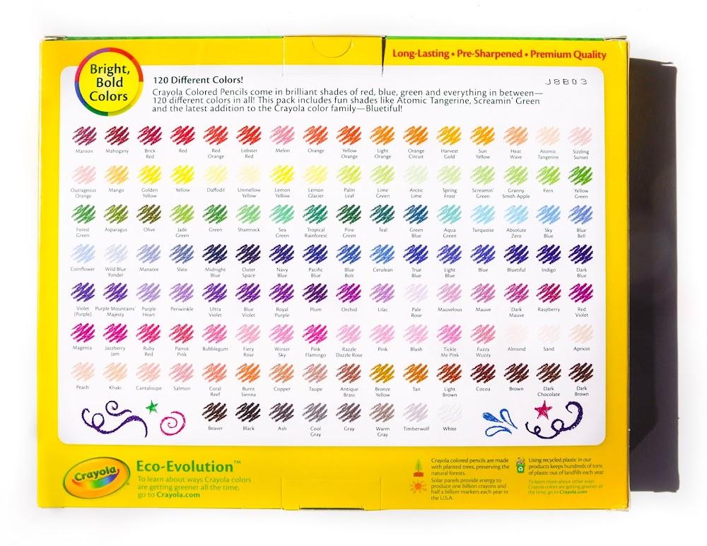 crayola color pencils # 66