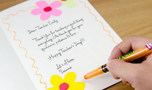 Teachers day wishes cards